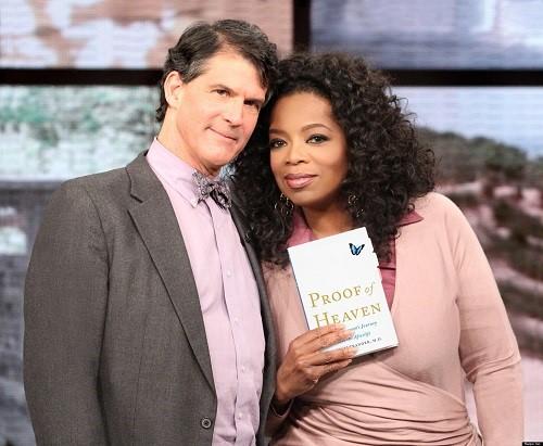 doctor eben alexander cuenta su ecm experiencia cercana a la muerta a Oprah prueba del cielo