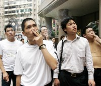 China ya alcanza los 320 millones de fumadores
